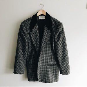 ⋒ vintage houndstooth coat ⋒